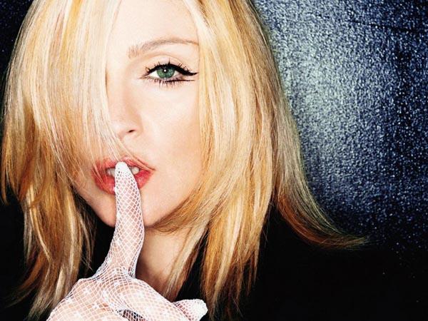 Madonna er í þriðja sæti með 61,300,00