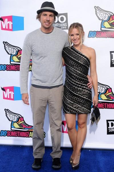 Dax Shepherd & Kristen Bell: Hún er 1.56 og hann er 1.87