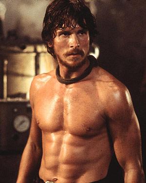 Christian Bale er hörkukroppur og frábær leikari