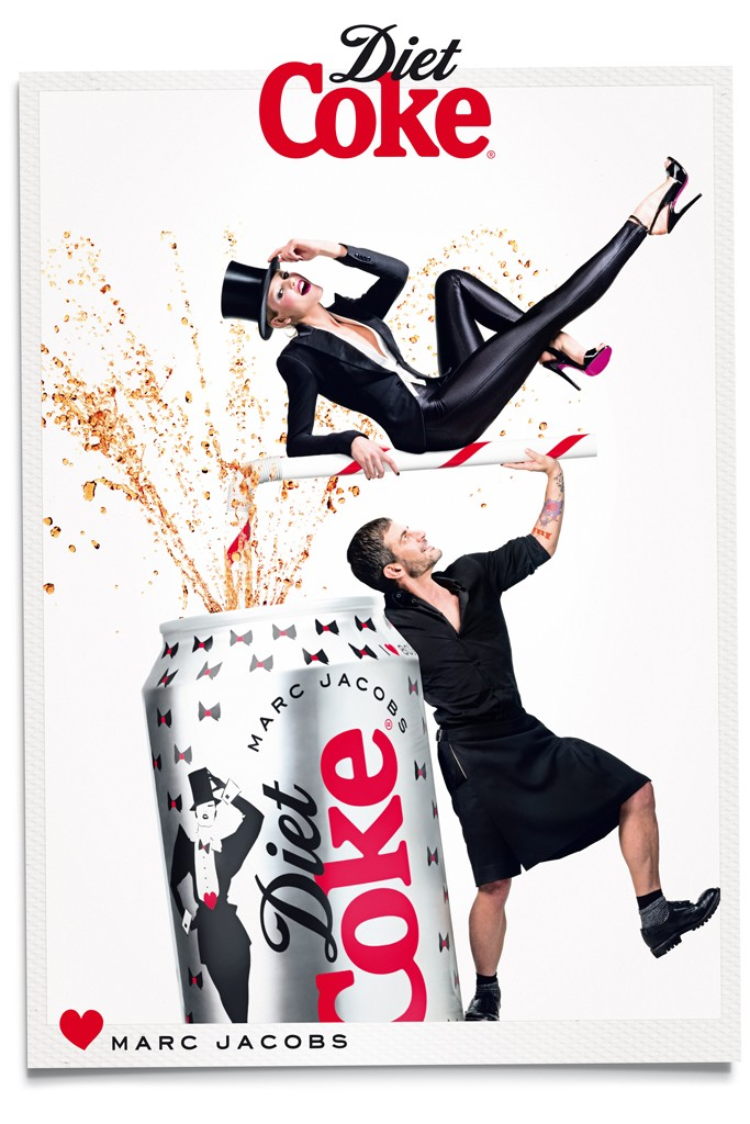 Marc Jacobs og Diet Coke