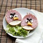 Angry Birds með spægipylsu