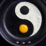 Yin Yang egg