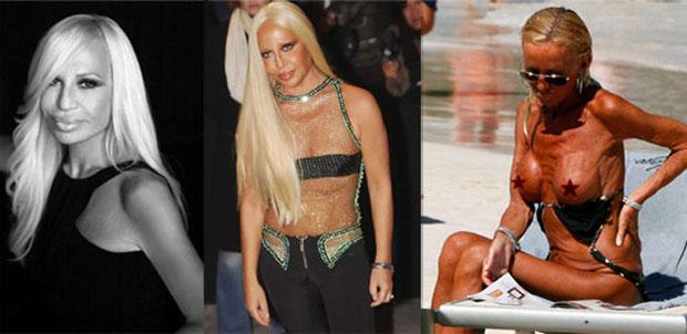 Donatella versace 58 hef i betur sleppt essum for Donatella versace beach