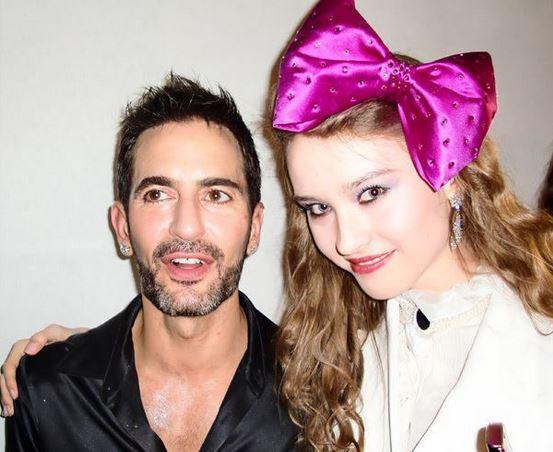 Marc Jacobs og Angel Barta