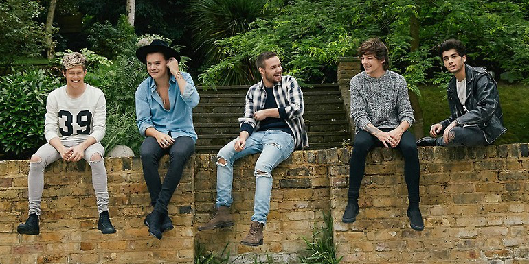 Zayn Malik, Liam Payne, Louis Tomlinson, Harry Styles og Niall Horan lentu í þriðja sæti í X-factor UK árið 2010 en hafa núna sigrað heiminn.