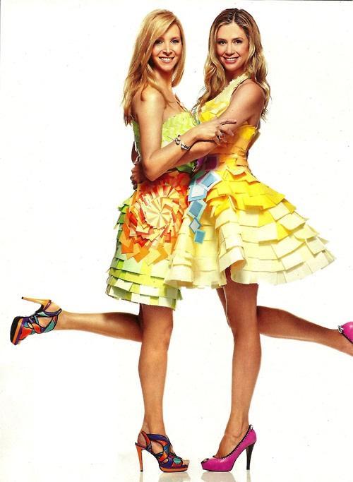 Lisa og Mira höfðu sitt eigið reunion með Entertainment Weekly árið 2011