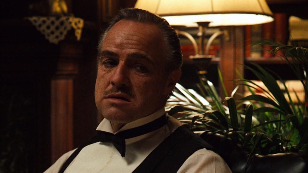 Marlon Brando var hrútur. Hér er hann í hlutverki Don Vito Corleone úr The Godfather.