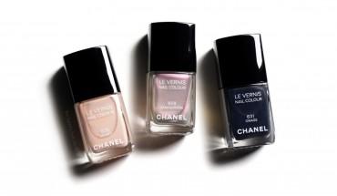 Haustlitirnir frá Chanel - Secret er lengst til vinstri.