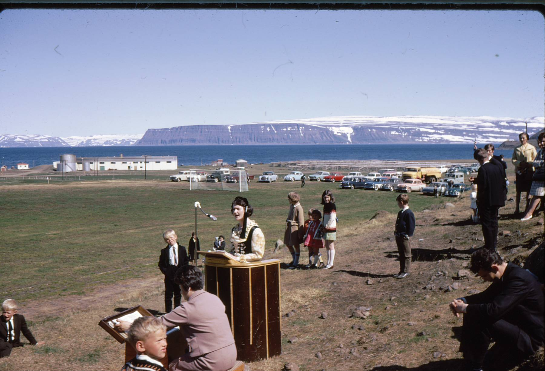Bolungarvík, 17. júní í kringum 1960.