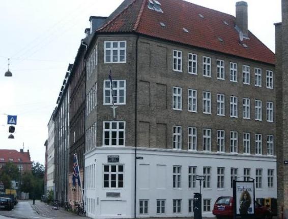Jónshús á Österbro í Köben.