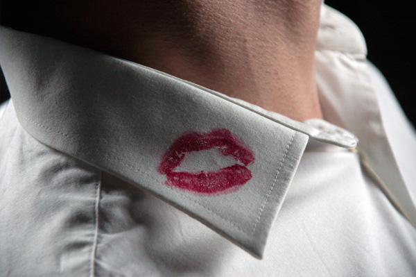 man-with-lipstick-on-shirt
