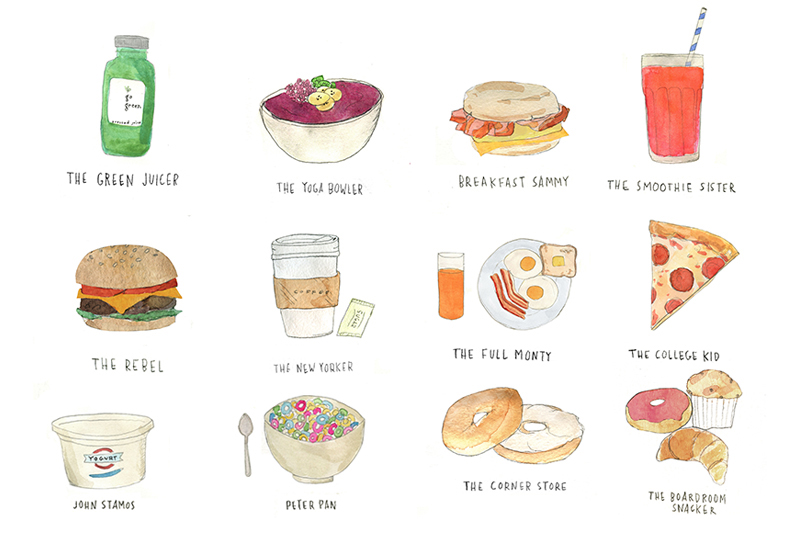 Man-Repeller-What-Kind-of-Breakfast-Are-You-Illustrations-alessandra-olanow-feature-breakfasts-are-you