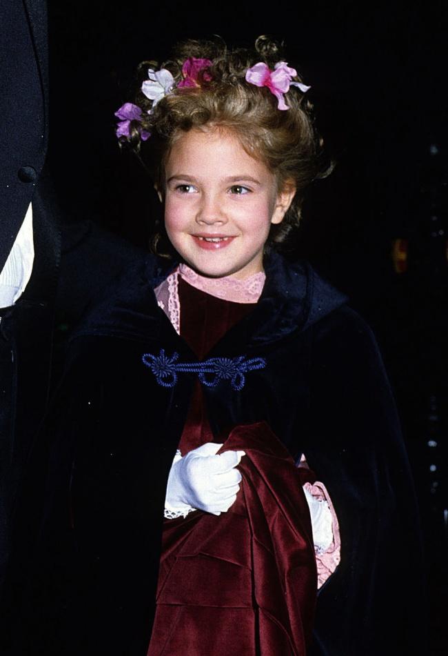 Drew Barrymore in 1982.
