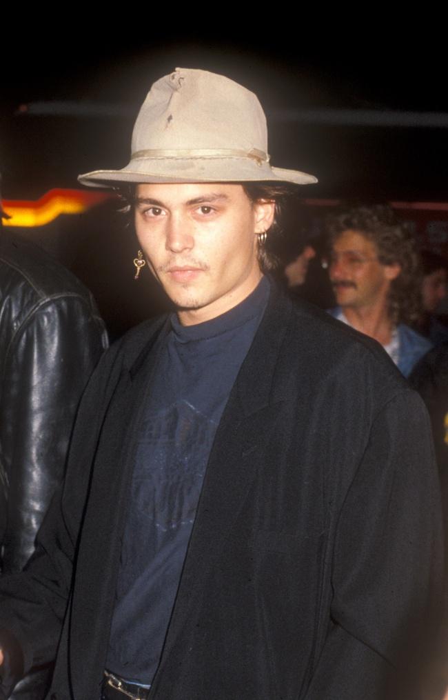Johnny Depp in 1987.